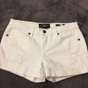 Girls white lucky brand shorts